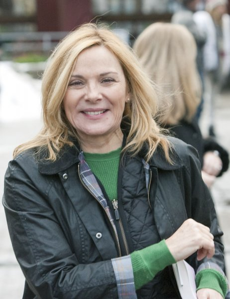Kim Cattrall discussed her relationship with Sarah Jessica Parker, Kristin Davis and Cynthia Nixon after turning down Sex and the City 3. File Photo by Heinz Ruckemann/UPI