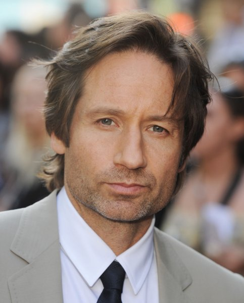 American actor David Duchovny attends the premiere of The X-Files: I Want To Believe at Empire, Leicester Square in London on July 30, 2008. (UPI Photo/Rune Hellestad)