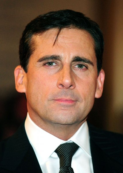 Steve Carell arrives for the 12th Annual Mark Train Prize at the John F. Kennedy Center for the Performing Arts in Washington on November 9, 2010. UPI/Kevin Dietsch