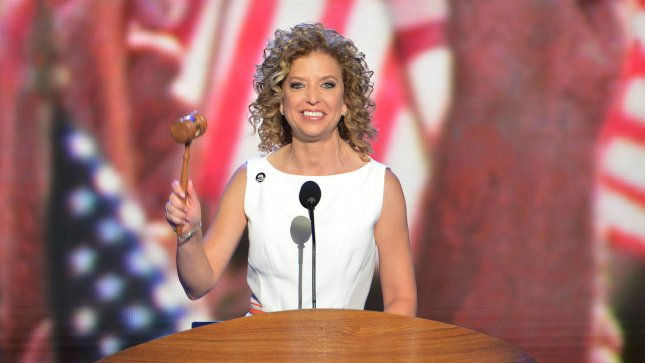 Rep. Debbie Wasserman Schultz (D-FL), chair of the Democratic National Committee, opens the Democratic National Convention at the Time Warner Cable Arena in Charlotte, North Carolina on September 4, 2012. UPI/Kevin Dietsch