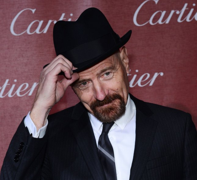 Actor Bryan Cranston arrives at the 24th annual Palm Springs International Film Festival awards gala at the Palm Springs Convention Center in Palm Springs, California on January 5, 2013. UPI/Jim Ruymen