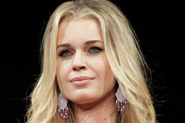 Rebecca Romijn walks on the runway at The Heart Truth's Red Dress Fall 2012 Collections at Mercedes-Benz Fashion Week at Lincoln Center In New York City on February 9, 2012. UPI/John Angelillo