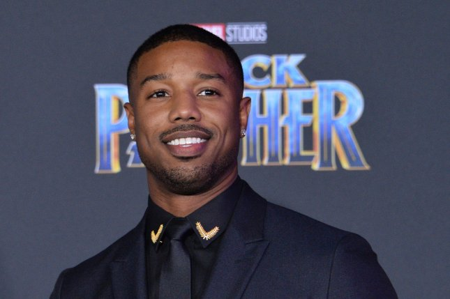 Marvel Comics announced a new miniseries will explore the origins of Erik Killmonger, the villain played in the Black Panther film by Michael B. Jordan. File Photo by Jim Ruymen/UPI