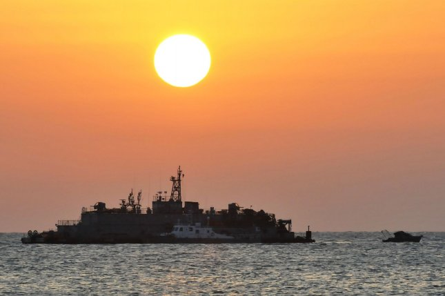 North Korea is responsible for the torpedoing of the South Korean warship Cheonan in 2010, Seoul said Wednesday. File Photo by Keizo Mori/UPI