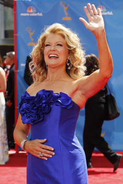 Mary Hart arrives at the 62nd Primetime Emmy Awards at the Nokia Theatre in Los Angeles on August 29, 2010. UPI/Lori Shepler