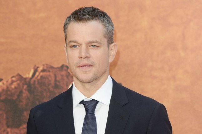 Matt Damon attends the premiere of The Martian at Odeon in London on Sept. 24, 2015. Photo by Rune Hellestad/ UPI The movie is No. 1 at the North American box office for a second weekend.