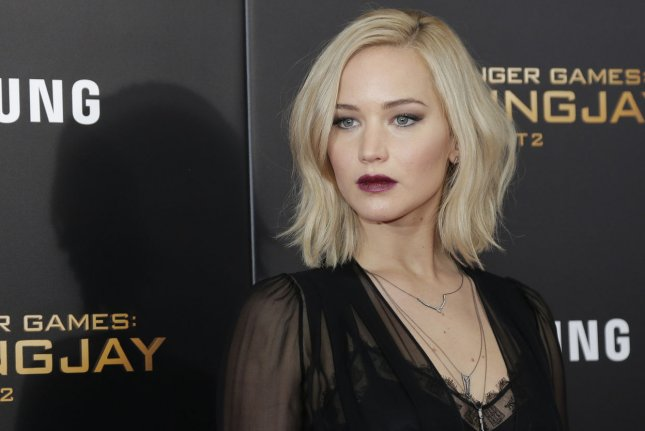 Jennifer Lawrence at the New York premiere of The Hunger Games: Mockingjay - Part 2 on November 18. The actress recently said she isn't a fan of New Year's Eve celebrations. File Photo by John Angelillo/UPI