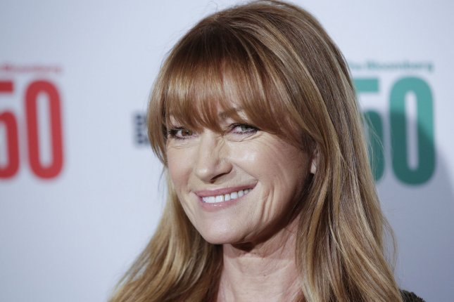 Jane Seymour shared a photo Wednesday from her third Playboy feature. File Photo by John Angelillo/UPI