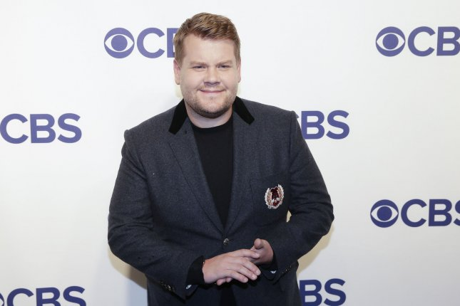 James Corden is set to host the 2019 Tony Awards, his second time hosting the ceremony. File Photo by John Angelillo/UPI