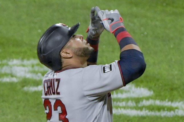 Minnesota Twins designated hitter Nelson Cruz, shown June 30, 2021, is a seven-time All-Star selection with 436 career home runs. File Photo by Mark Black/UPI