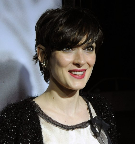 Actress Winona Ryder attends the premiere of the new biographical drama motion picture Milk, at the Academy of Motion Picture Arts and Sciences in Beverly Hills, California on November 13, 2008. (UPI Photo/Jim Ruymen)