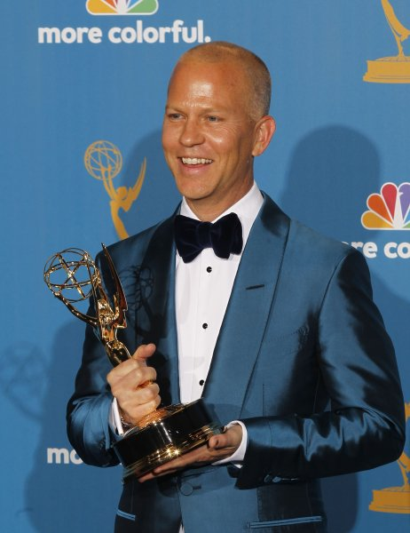 Ryan Murphy holds his Emmy Award for Outstanding Directing for a Comedy Series for his work on Glee at the 62nd Primetime Emmy Awards on August 29, 2010. Murphy teamed with the Human Rights Campaign to create a star-studded short film eulogizing those lost in the Pulse nightclub massacre. File Photo by Lori Sheple/UPI