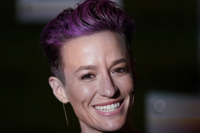 Megan Rapinoe will host Seeing America With Megan Rapinoe at 10 p.m. EDT Saturday on HBO. File Photo by John Angelillo/UPI