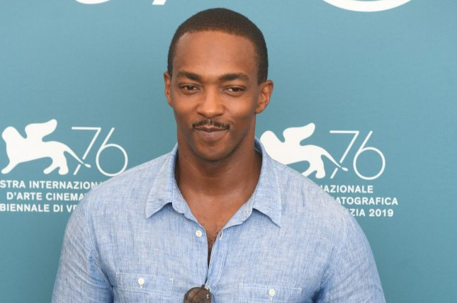 The Falcon and The Winter Soldier star Anthony Mackie attends a photo call for Seberg at the 76th Venice Film Festival on August 2019. The new Marvel series is the most watched series premiere ever on Disney+. File Photo by Rune Hellestad/UPI