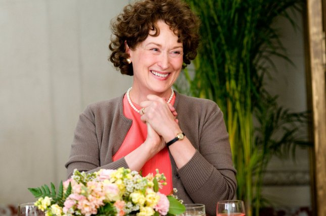 A scene from Julie & Julia is pictured in this undated publicity photo released to UPI. Meryl Streep, pictured, was nominated for best actress for the 82nd Academy Awards, announced in Beverly Hills, California on February 2, 2010. The Oscars will be presented March 7, 2010 at the Kodak Theatre in Los Angeles. UPI/Jonathan Wenk/Sony Pictures Classics/Handout