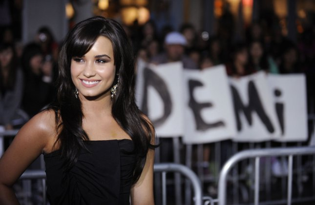 Demi Lovato attends the premiere of the film Jonas Brothers: The 3D Concert Experiece in Los Angeles on February 24, 2009. (UPI Photo/ Phil McCarten)