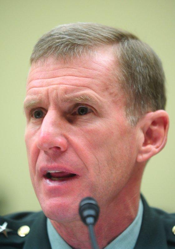U.S. Army Gen. Stanley McChrystal (UPI/Kevin Dietsch)