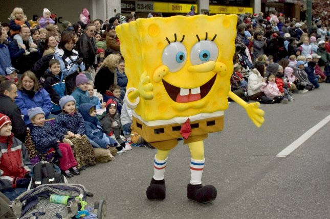 The stage show is inspired by the animated TV series SpongeBob SquarePants and his life in Bikini Bottom. File Photo by Heinz Ruckemann/UPI