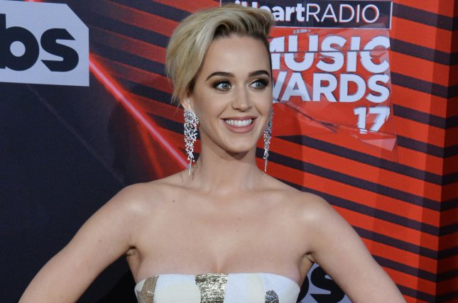 Katy Perry arrives for the iHeartRadio Music Awards on March 5. The singer has announced a new fall tour that begins in September. File Photo by Jim Ruymen/UPI