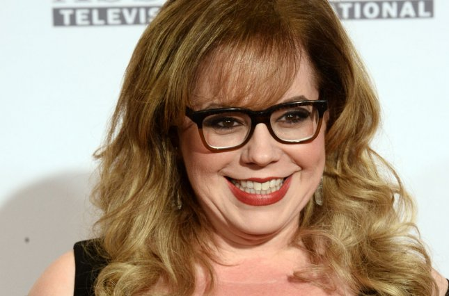 Kirsten Vangsness attends the Race to Erase MS gala on April 15, 2016. File Photo by Jim Ruymen/UPI