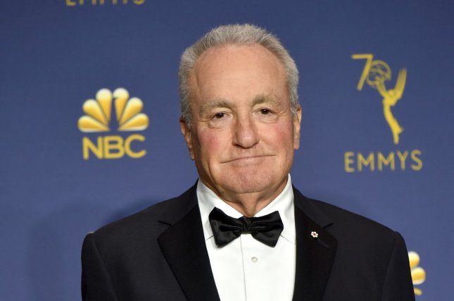 A representative for Saturday Night Live executive producer Lorne Michaels, pictured, announced the show has fired recent hire Shane Gillis. File Photo by Christine Chew/UPI
