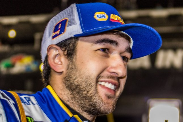 Chase Elliott has two Cup Series wins this season after he led the field at the GoBowling 235 Sunday at the Daytona International Speedway Road Course in Daytona Beach, Fla. File Photo by Edwin Locke/UPI