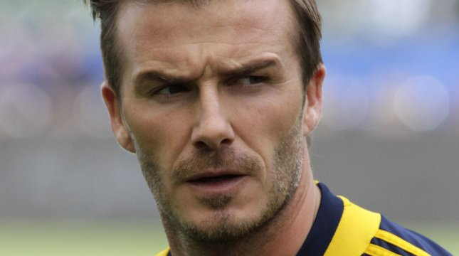 [VIDEO] David Beckham cries during last game of his career