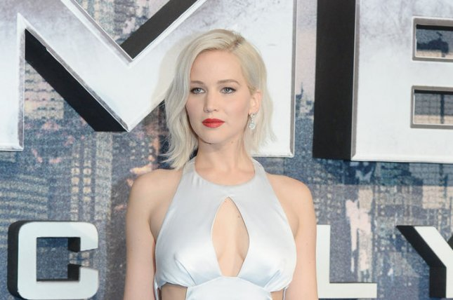 Jennifer Lawrence attends the premiere of X- Men : Apocalypse at the BFI Imax in London on May 9, 2016. File Photo by Rune Hellestad/ UPI