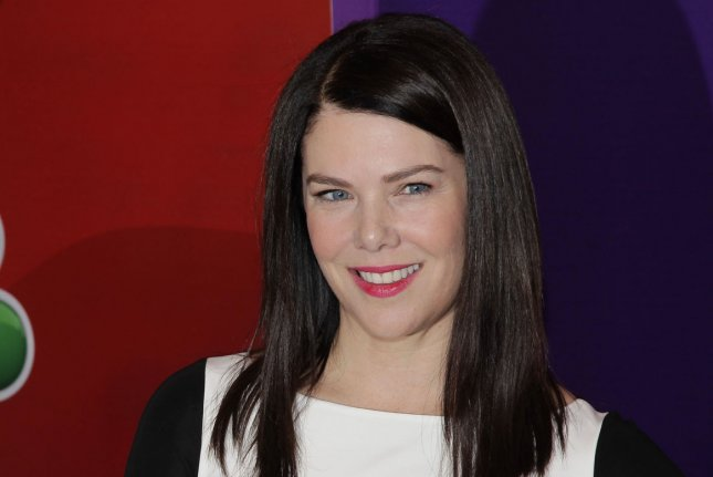 Lauren Graham arrives on the red carpet at the 2013 NBC Upfront Presentation at Radio City Music Hall in New York City on May 13, 2013. Graham says she was nervous about the upcoming Gilmore Girls episodes on Netflix because of fans' high expectations for the show. File Photo by John Angelillo/UPI