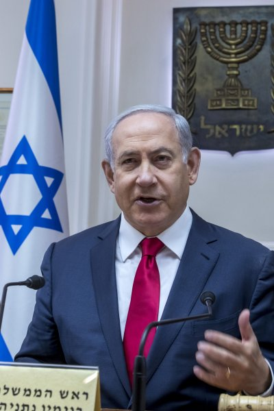 Israeli Prime Minister Benjamin Netanyahu was unable to form a coalition government. Pool Photo by Jim Hollander/UPI