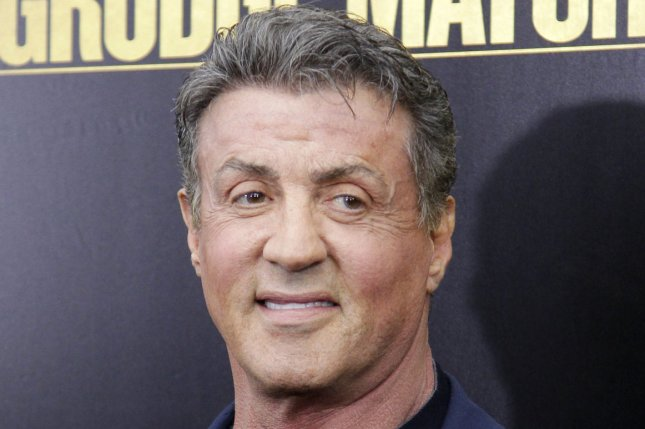 Sylvester Stallone arrives on the red carpet at the Grudge Match Premier at the Ziegfield Theatre in New York City on December 16, 2013. UPI/John Angelillo