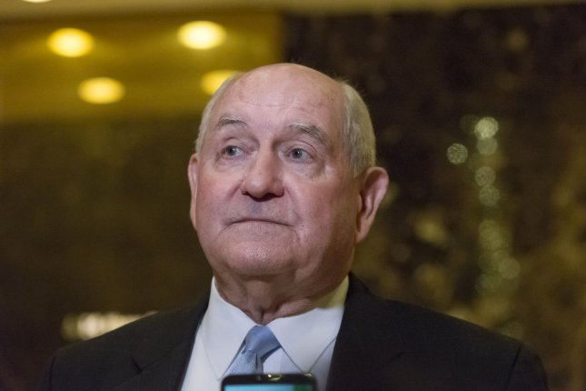 President-elect Donald Trump is expected Thursday to nominate former Georgia Gov. Sonny Perdue, pictured speaking to the press following a meeting with Trump on November 30, 2016, according to members of his transition team. Pool Photo by Albin Lohr-Jones/UPI