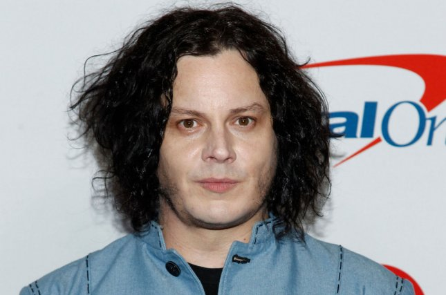 Jack White arrives for the iHeartRadio Music Festival on September 2018. White's label, Third Man Records, has relaunched its Third Man Public Access series. File Photo by James Atoa/UPI