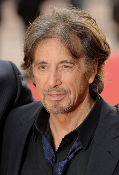 American actor Al Pacino attends the premiere of Rightous Kill at Empire, Leicester Square in London on September 14, 2008. (UPI Photo/Rune Hellestad)
