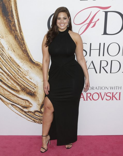 2cb6eaeae6488 Ashley Graham arrives on the red carpet at the 2016 CFDA Fashion Awards on  June 6, 2016 in New York City. Graham said in a recent interview that she  took ...