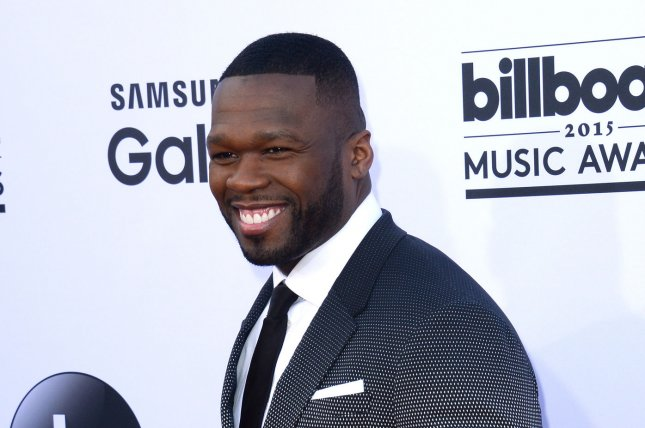 Curtis '50 Cent' Jackson attends the Billboard Music Awards held at the MGM Grand Garden Arena in Las Vegas, Nev. on May 17, 2015. Jackson appeared to be slamming a fellow Power executive producer for inserting a nude scene into the latest episode of the Starz drama. File Photo by Jim Ruymen/UPI