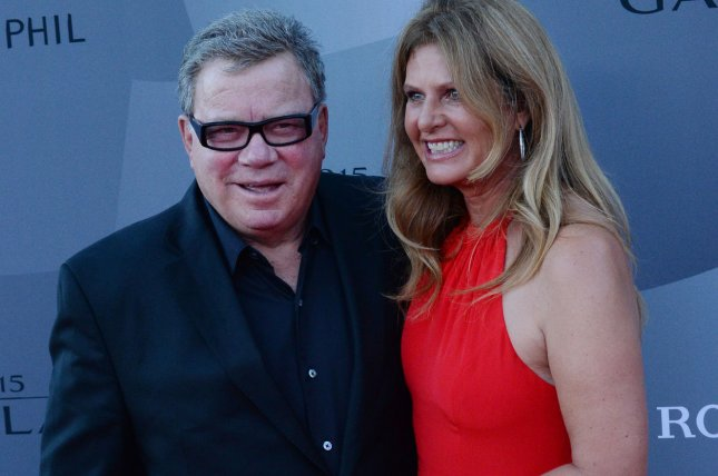 Actor William Shatner (L) and his wife Elizabeth Shatner attend Los Angeles Philharmonic's opening night concert in Los Angeles on September 29, 2015. File Photo by Jim Ruymen/UPI