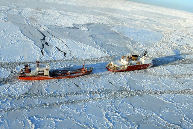 The U.S. government has given Italian energy company Eni approval to drill for oil in the Arctic waters of Alaska. File photo by Sara Francis/U.S. Coast Guard