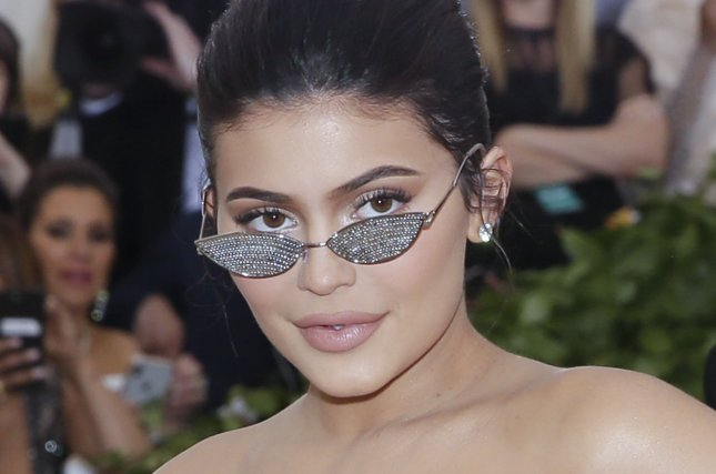Kylie Jenner wore two Barbie-inspired looks to celebrate her birthday. File