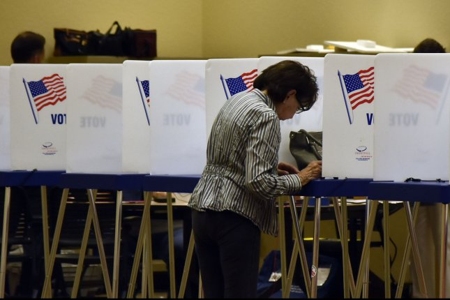Three states are holding primaries Tuesday, which will be the final battleground party contests before the November midterms. File Photo by Gary I Rothstein/UPI