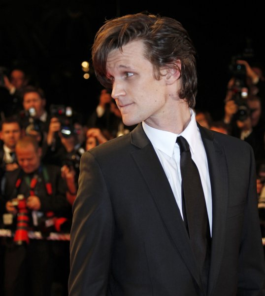 Actor Matt Smith, star of the Dr. Who television series, arrives on the red carpet before a screening of the British film Fish Tank at the 62nd annual Cannes Film Festival in Cannes, France on May 14, 2009. (UPI Photo/David Silpa)