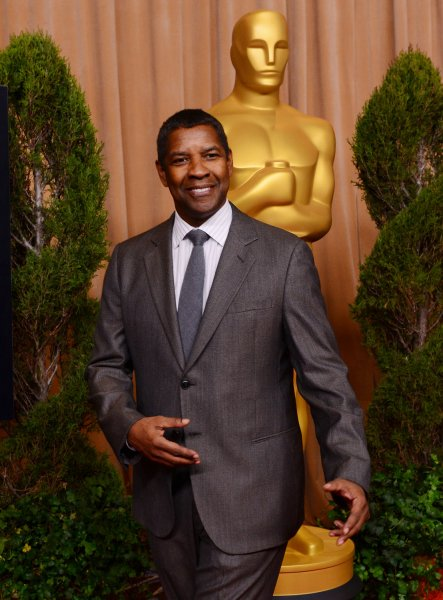 Denzel Washington attends the 85th Academy Awards nominations luncheon in Beverly Hills in 2013. File Photo by Jim Ruymen/UPI