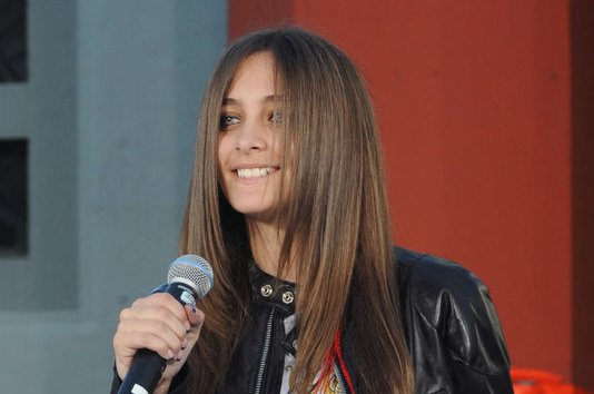 Paris Jackson introduces Justin Bieber at Michael Jackson's posthumous TCL Chinese Theatre ceremony on January 26, 2012. File Photo by Jim Ruymen/UPI