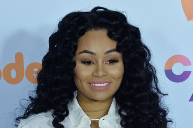 Blac Chyna attends the Nickelodeon Kids' Choice Awards on Saturday. The reality star showed off her slim post-baby figure during a pool day with daughter Dream and best friend Amber Rose on Sunday. File Photo by Jim Ruymen/UPI