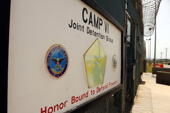 A sign for Camp VI in Camp Delta where detainees are housed is seen at Naval Station Guantanamo Bay in Cuba in this July 2010 photo. Roger L. Wollenberg/UPI