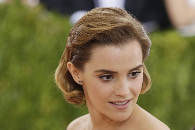 Emma Watson at the Costume Institute Benefit at the Metropolitan Museum of Art on May 2. File photo by John Angelillo/UPI