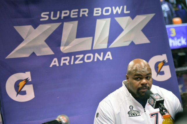 Houston Texans DT Vince Wilfork. Photo by Kevin Dietsch/UPI