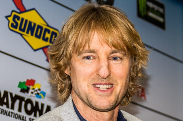 Daytona 500 Honorary Grand Marshall Owen Wilson awaits the race on February 26 in Daytona, Fla. Wilson voices main character Lightning McQueen in the latest trailer for Cars 3. File Photo by Edwin Locke/UPI