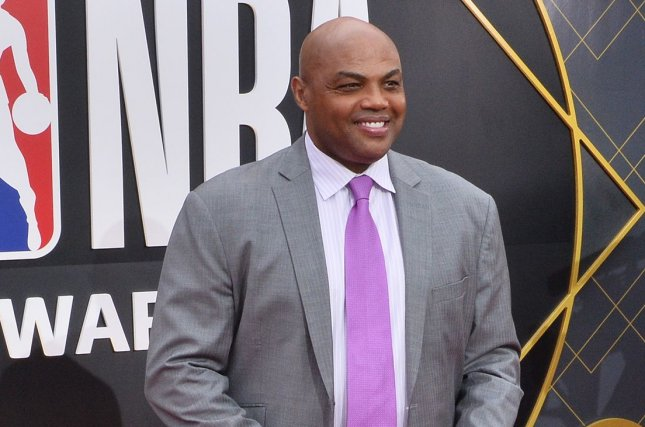 Former NBA star Charles Barkley (pictured) said the Brooklyn Nets' super team of Kyrie Irving, Kevin Durant, Kyrie Irving and others is bad for business. File Photo by Jim Ruymen/UPI