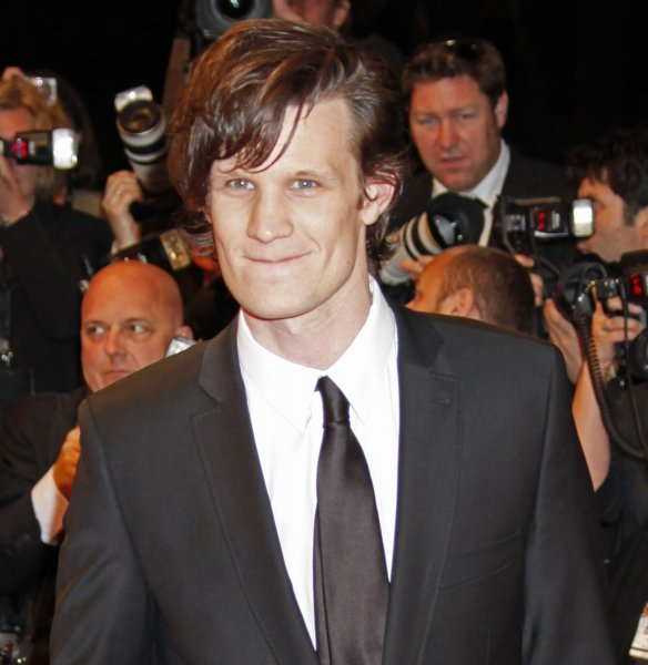 Actor Matt Smith arrives on the red carpet before a screening of the British film Fish Tank at the 62nd annual Cannes Film Festival in Cannes, France on May 14, 2009. (UPI Photo/David Silpa)